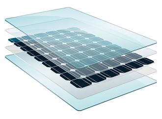 Glas-glas zonnepanelen