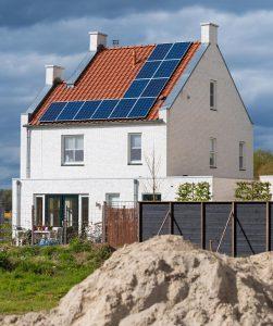 Vrijstaande woning met zonnepanelen