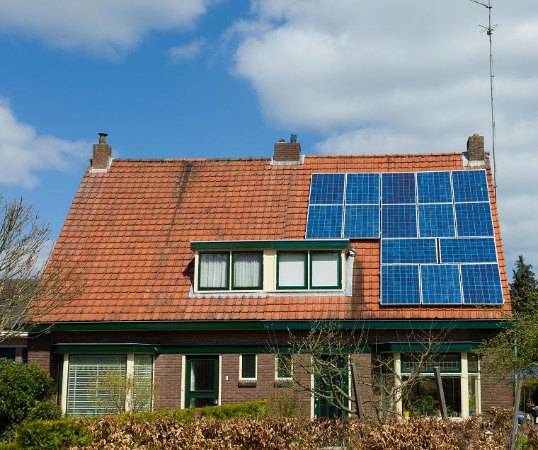 2-onder-1-kap woning met zonnepanelen